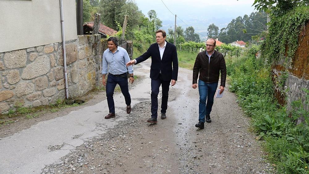 Autarca Barquense visita freguesia de Bravães | Peneda Gerês TV