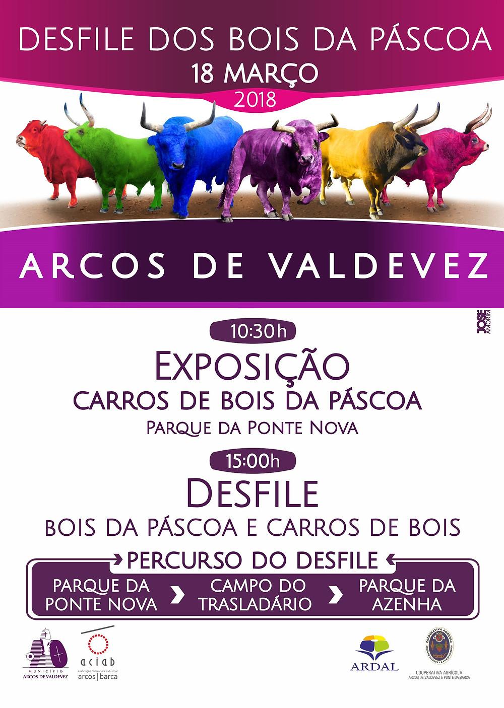 Desfile dos bois da Páscoa | Arcos de Valdevez | Peneda Gerês TV