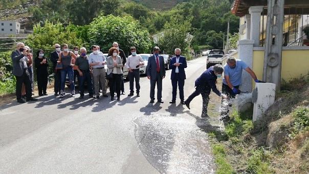 Freguesia de Ermelo já tem rede pública de abastecimento de água