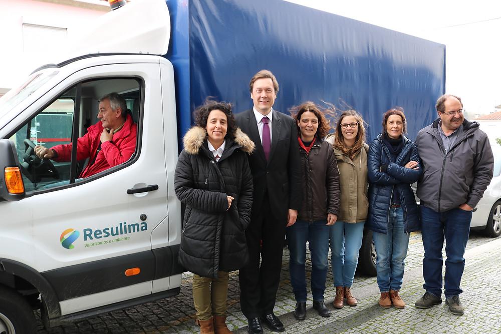 Novo Veículo de recola de lixo seletivo em Ponte da Barca | Peneda Gerês TV