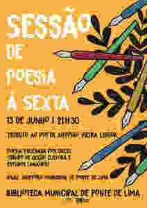 Ponte de Lima homenageia poeta António Vieira Lisboa   Peneda Gerês TV