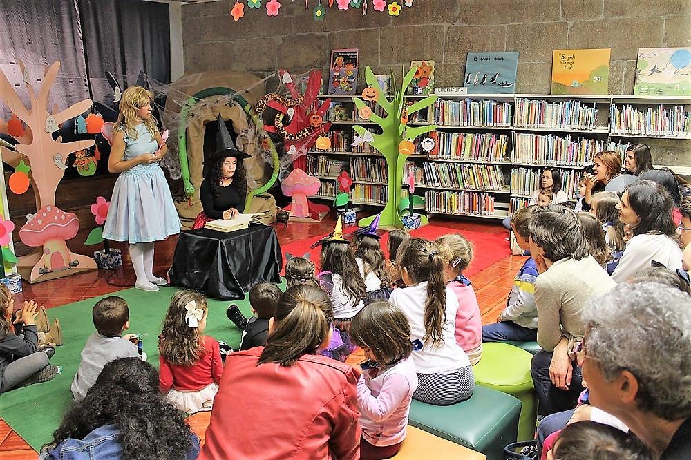 Bruxas e fadas à solta na Biblioteca Municipal de Ponte de Lima | Peneda Gerês TV