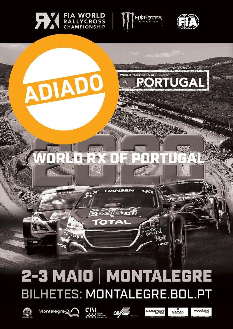 Prova do Mundial Rallycross de Montalegre adiada | Peneda Gerês TV