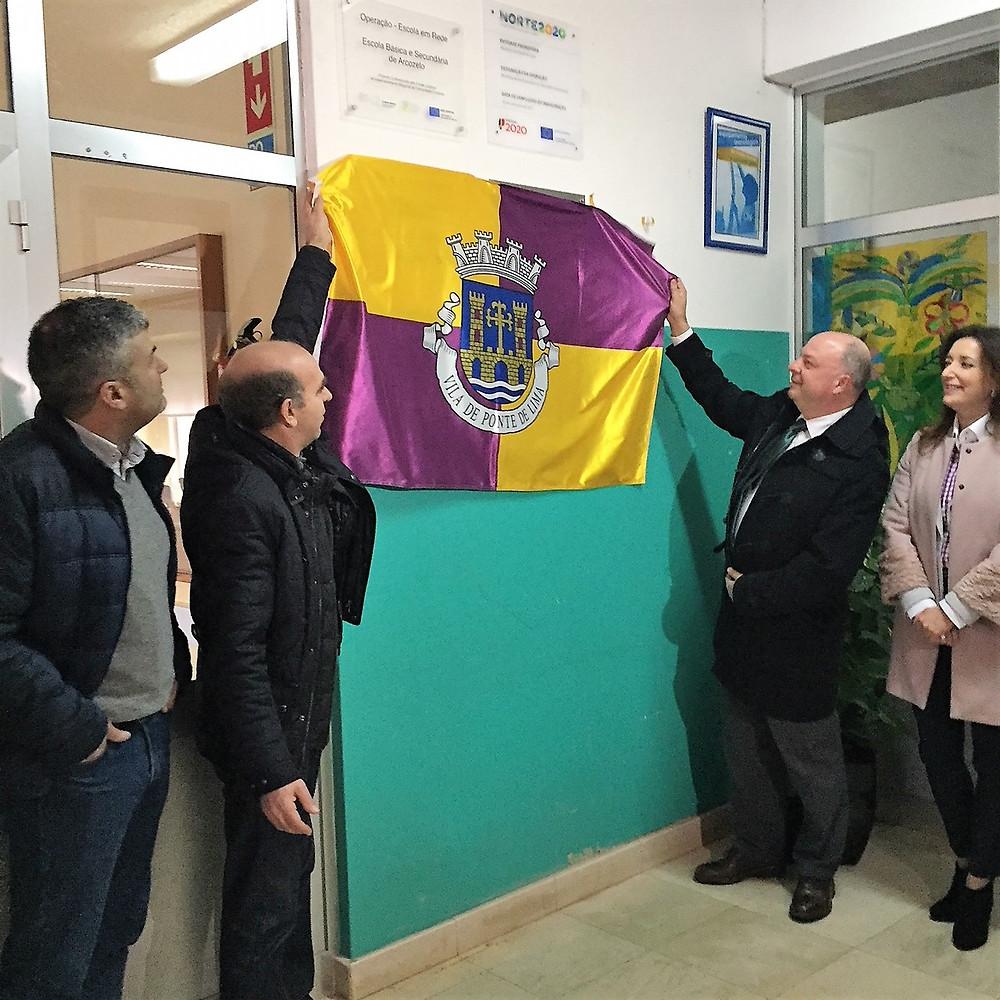 Beneficiação da Escola Básica e Secundária de Arcozelo | Peneda Gerês TV