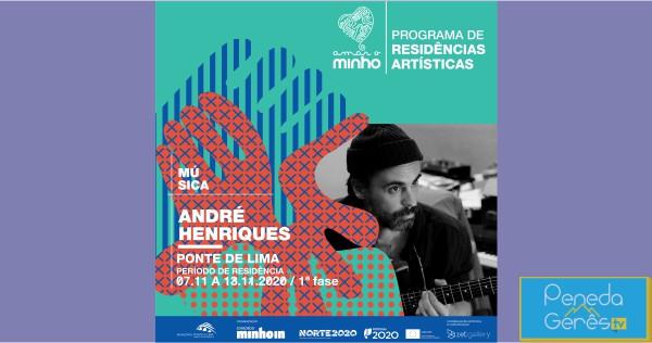 André Henriques, músico e letrista dos Linda Martini, estará em Ponte de Lima em residência artística, na 1.ª fase, de 7 a 13 de Novembro