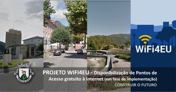 A Câmara Municipal de Terras der Bouro tem em marcha a instalação de redes wireless de acesso gratuito em vários espaços públicos do concelho.