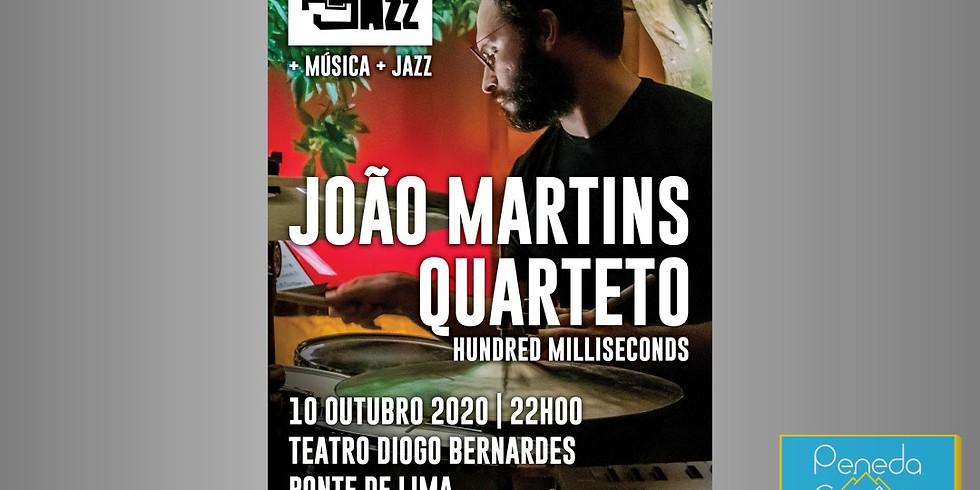 JOÃO MARTINS QUARTETO   HUNDRED MILLISECONDS