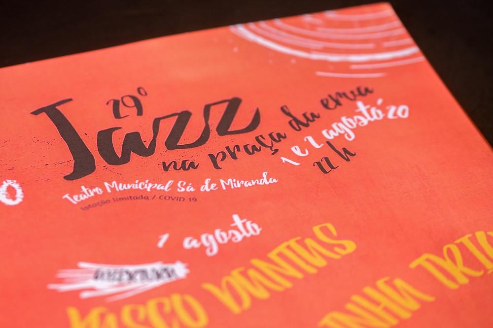 29º Festival Jazz na Praça da Erva a 1 e 2 de agosto