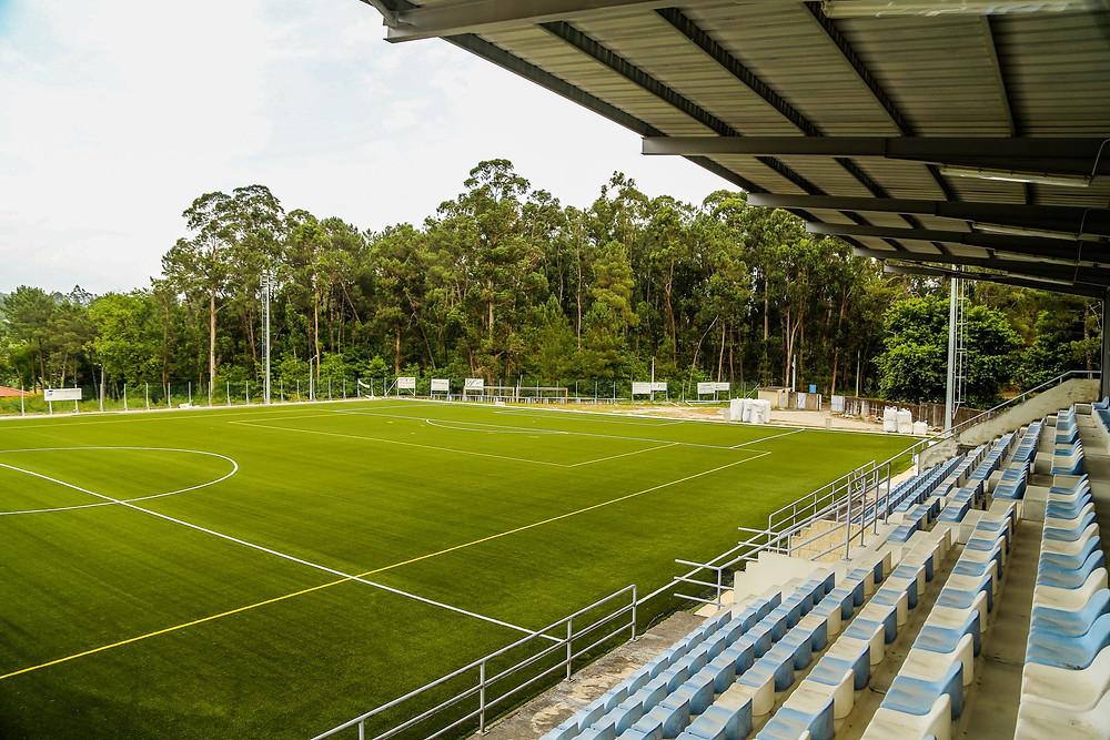 Requalificação dos campos de Jogos do Adecas e do Távora em fase de conclusão