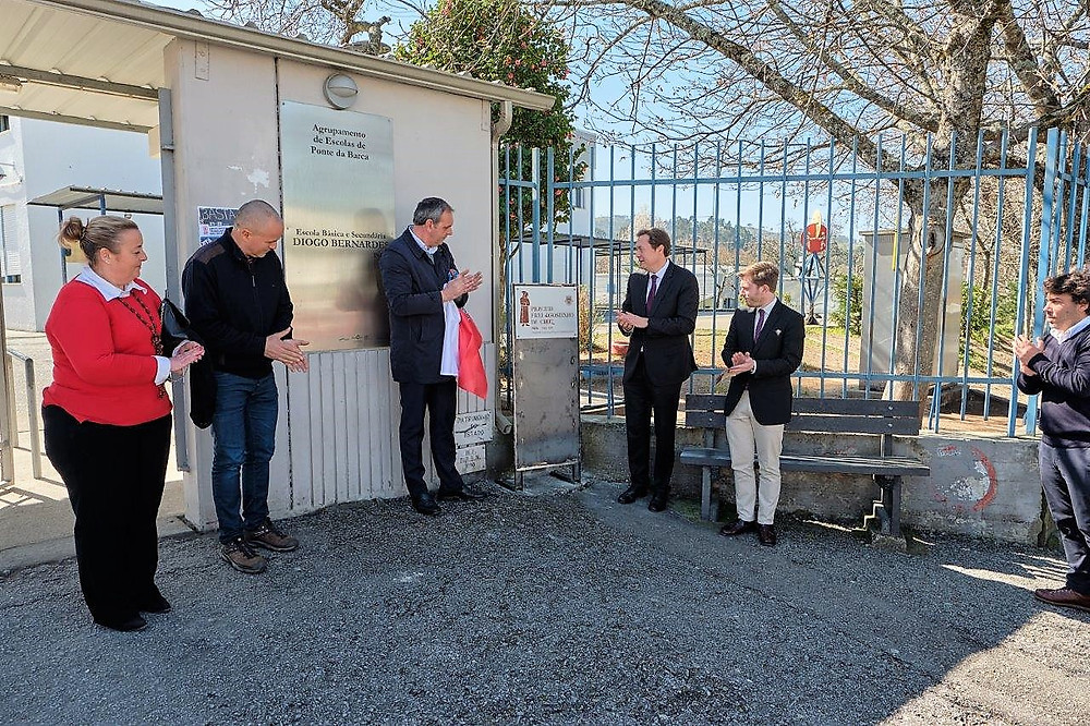 Ponte da Barca inaugura praceta em homenagem a Frei Agostinho da Cruz | Peneda Gerês TV