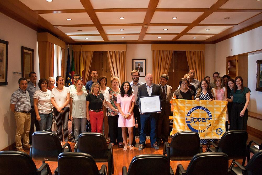 Município de Ponte de Lima recebe Certificado da Qualidade   Peneda Gerês TV