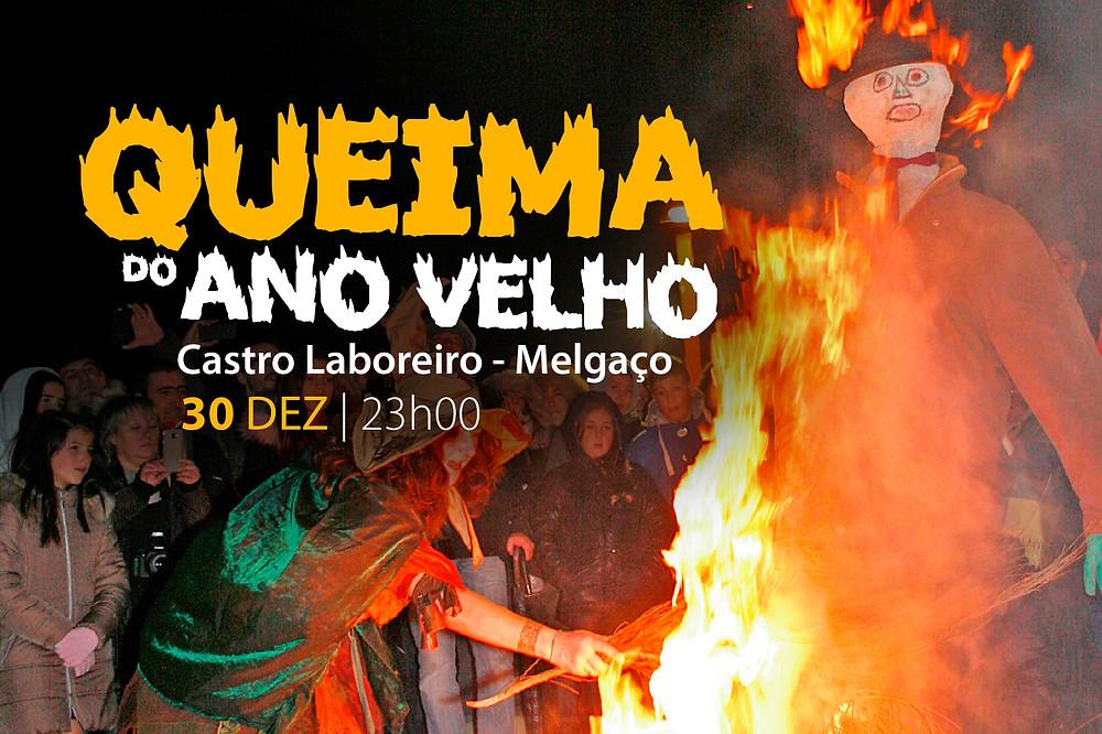 No proximo Domingo Castro Laboreiro queima o ano velho | Peneda Gerês TV