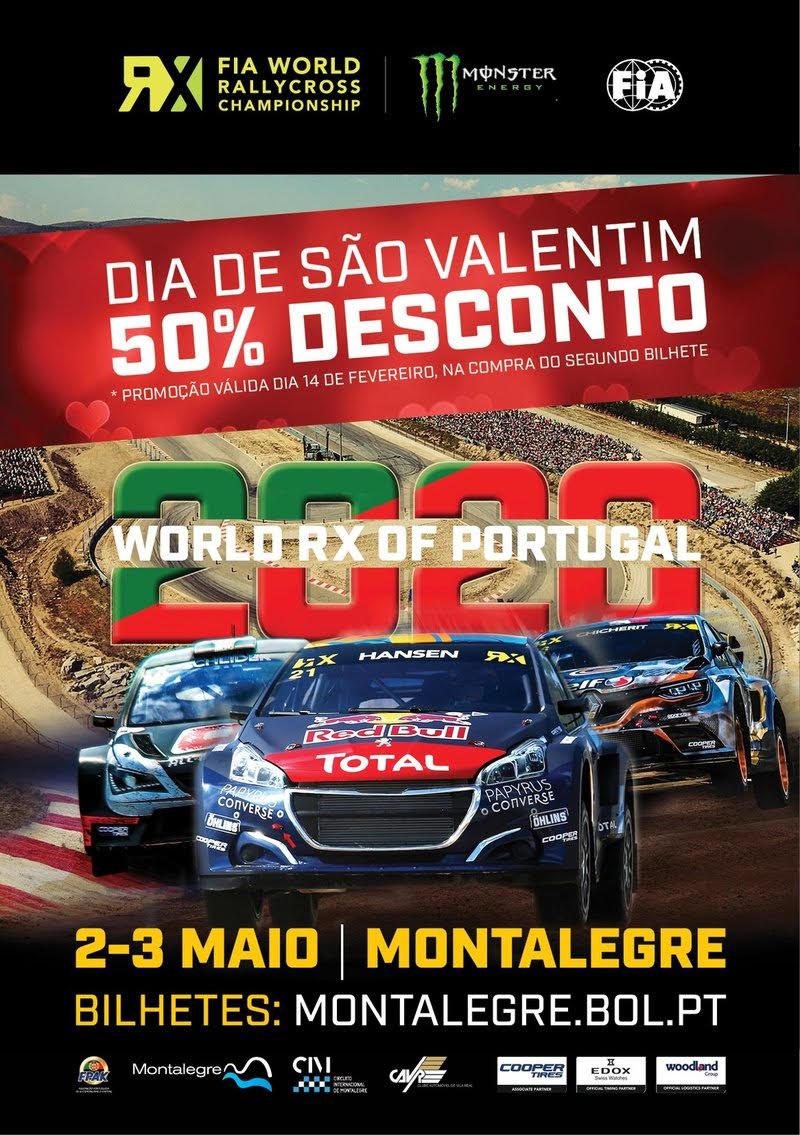 Mundial Rallycross com bilhetes a 50% no São Valentim | Peneda Gerês TV