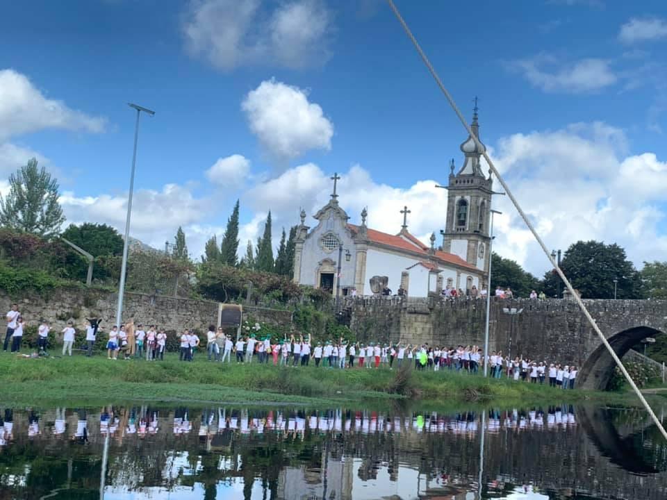 X Abraço ao Rio Lima celebrou-se no Dia Nacional da Água em Ponte da Lima   Peneda Gerês TV
