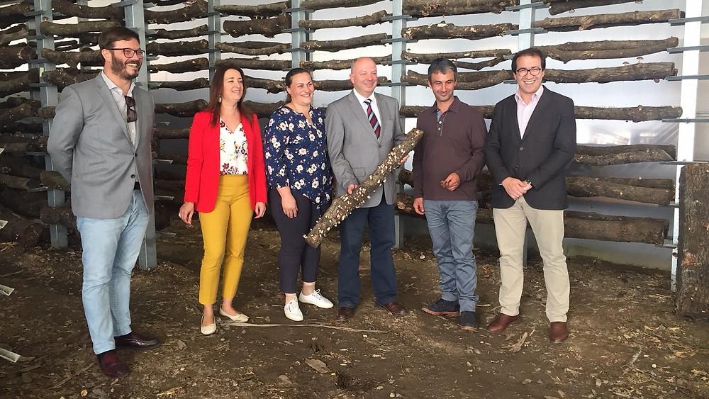 Executivo visitou empresa de produção  de cogumelos Shitake | Peneda Gerês TV