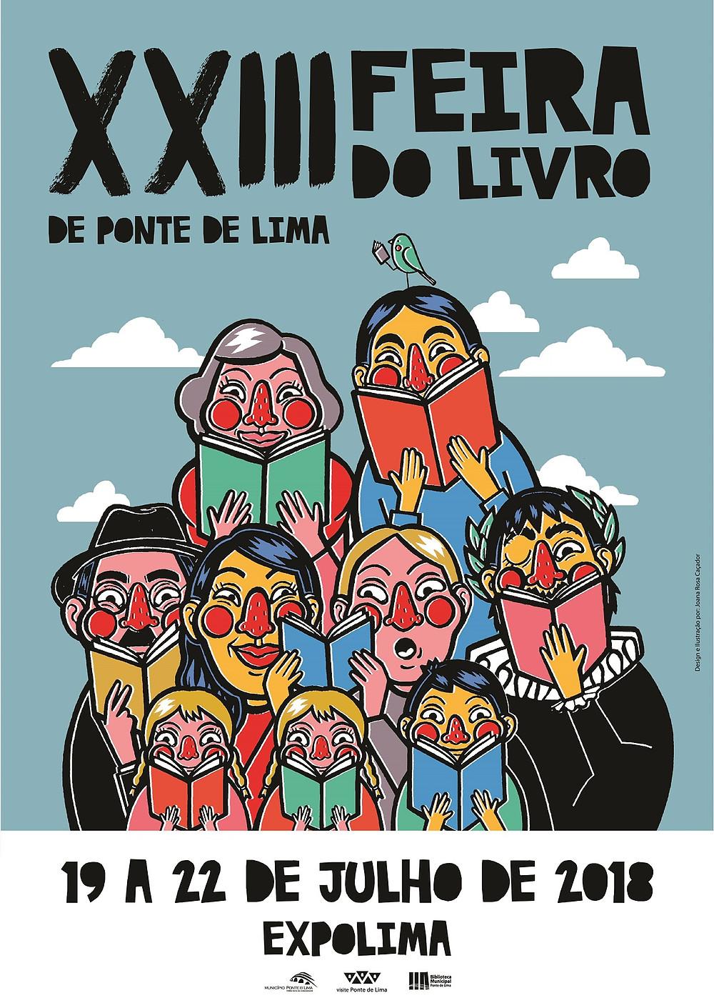 XXIII Feira do Livro de Ponte de Lima com diversidade e novidades | Peneda Gerês TV