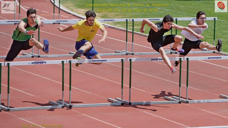 Mário Silva 4º nos 100m Barreiras do Campeonato Nacional | Peneda Gerês TV