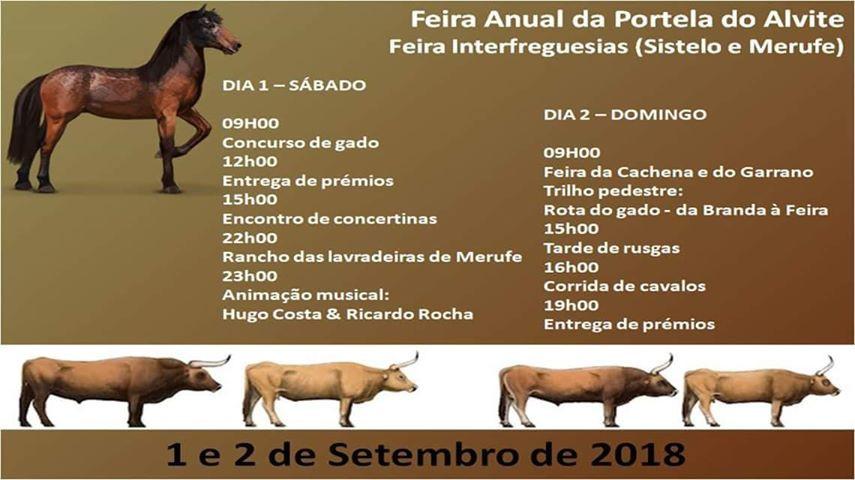 Portela do Alvite recebe mais uma vez, Feira Tradicional Interfreguesias | Peneda Gerês TV
