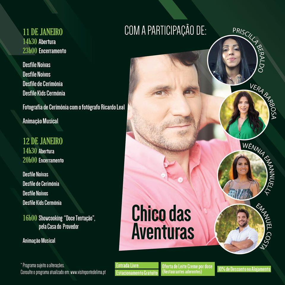 XIII Verde Noivos em Ponte de Lima dias 11 e 12 de janeiro | Peneda Gerês TV