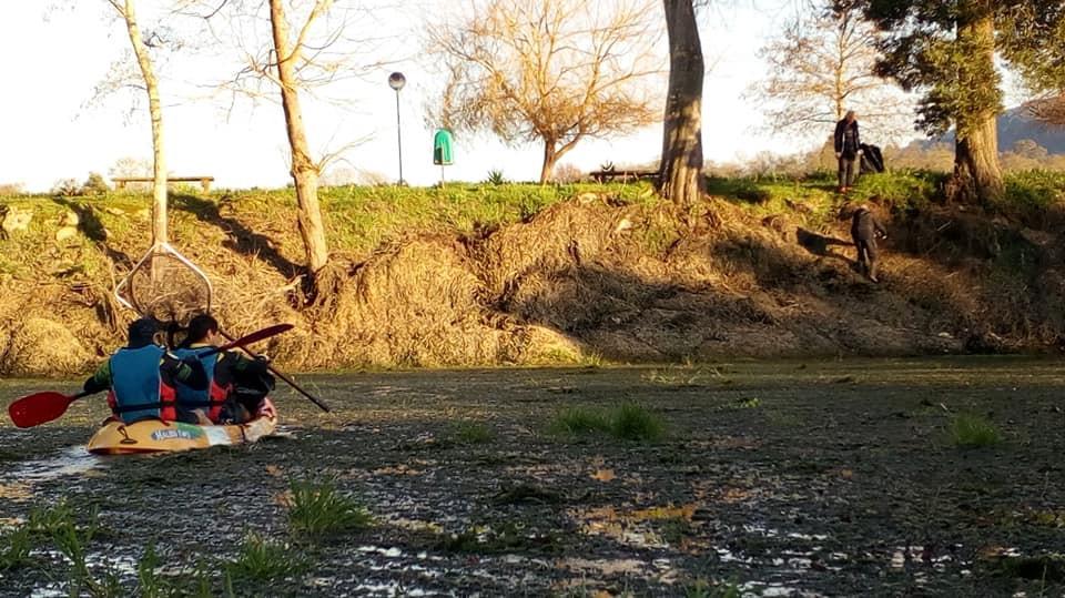 Cerveira Team Running retira mais de 100kg de lixo do rio Minho | Peneda Gerês TV