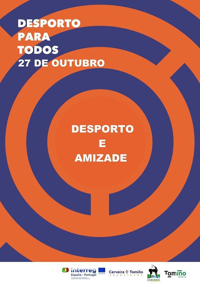 "Eurocidade Cerveira-Tomiño organiza jornada ""Desporto para Todos"" | Peneda Gerês TV"