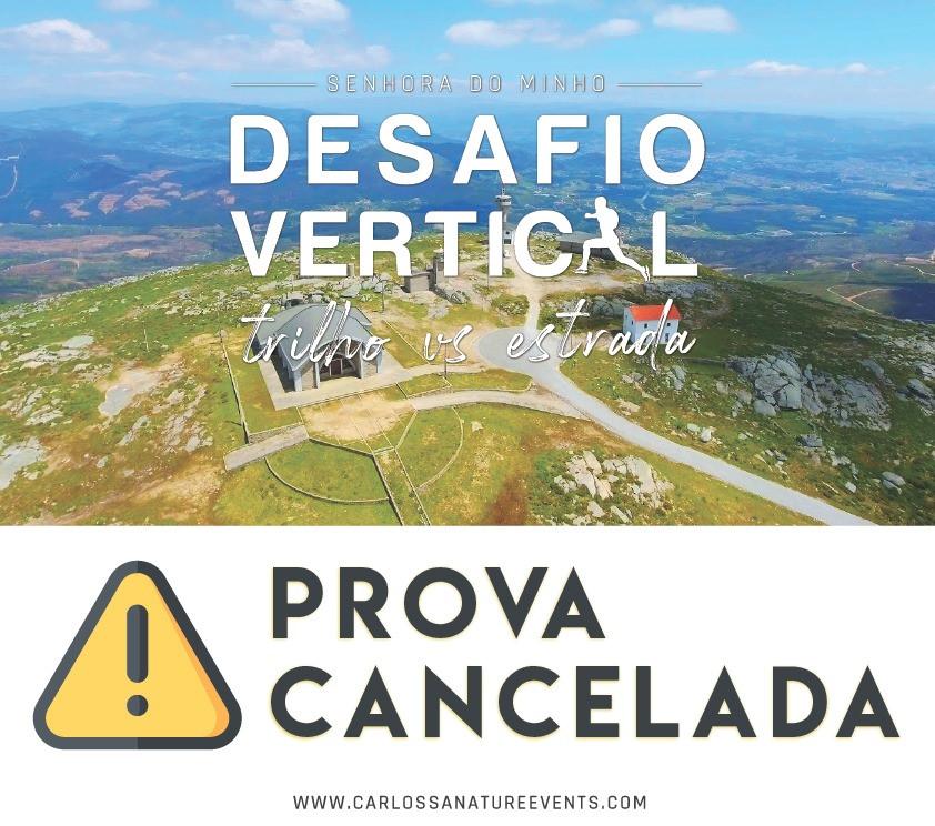 Desafio Vertical Trilho VS cancelado| Peneda Gerês TV
