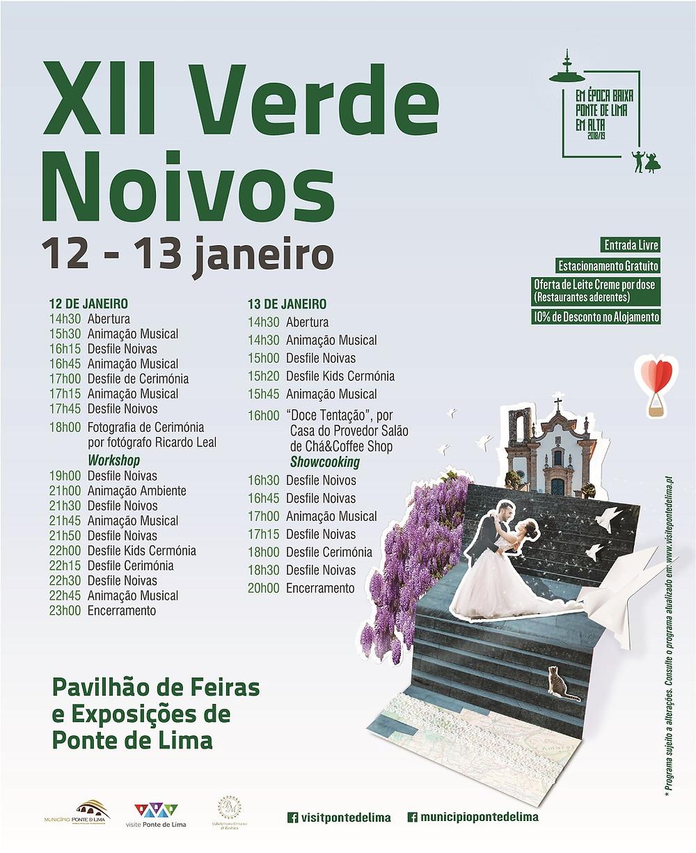 XII Verde Noivos nos dias 12 e 13 de janeiro em Ponte de Lima | Peneda Gerês TV