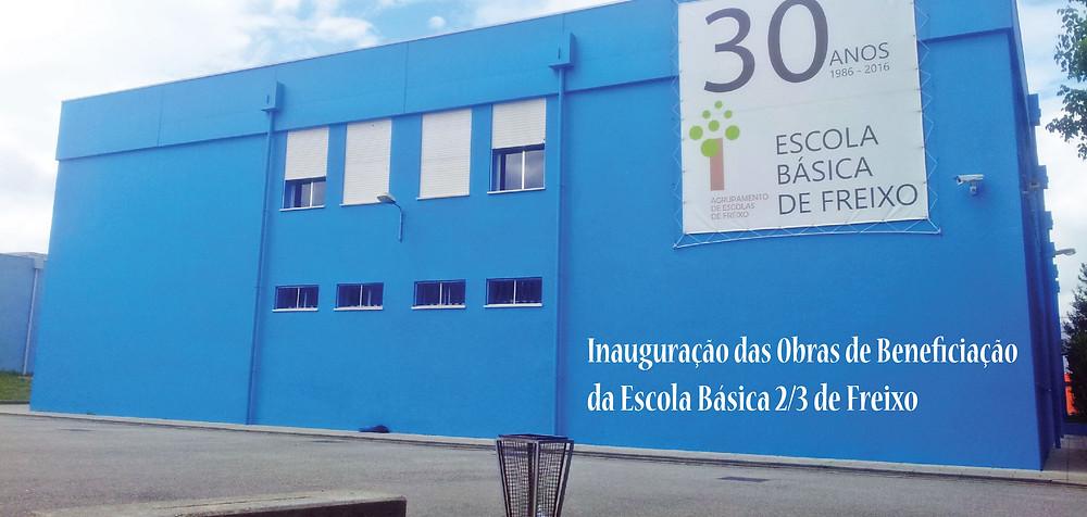 Inauguração das obras da Escola Básica 2,3 do Freixo | Peneda-Gerês TV