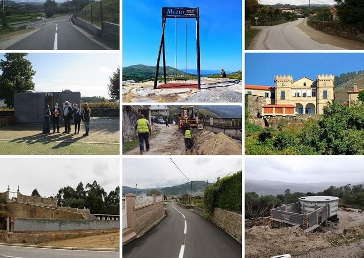 Com estas visitas, o edil, pretende acompanhar o desenvolvimento das obras que o município está a executar