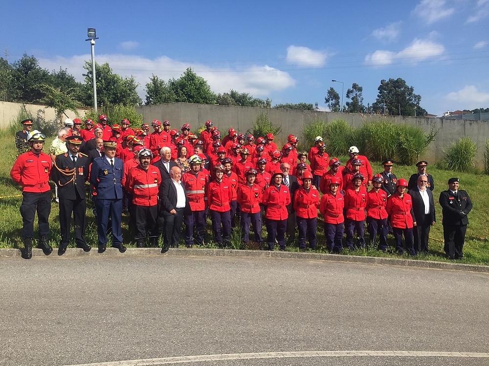 Primeira Escola Distrital de Bombeiros do País encerrou em Ponte de Lima | Peneda Gerês TV
