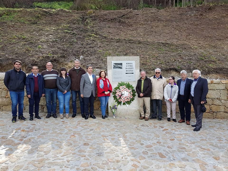 Inaugurado Memorial às vítimas do acidente do Castelo ocorrido em 1958 | Arcos de Valdevez | Peneda Gerês TV