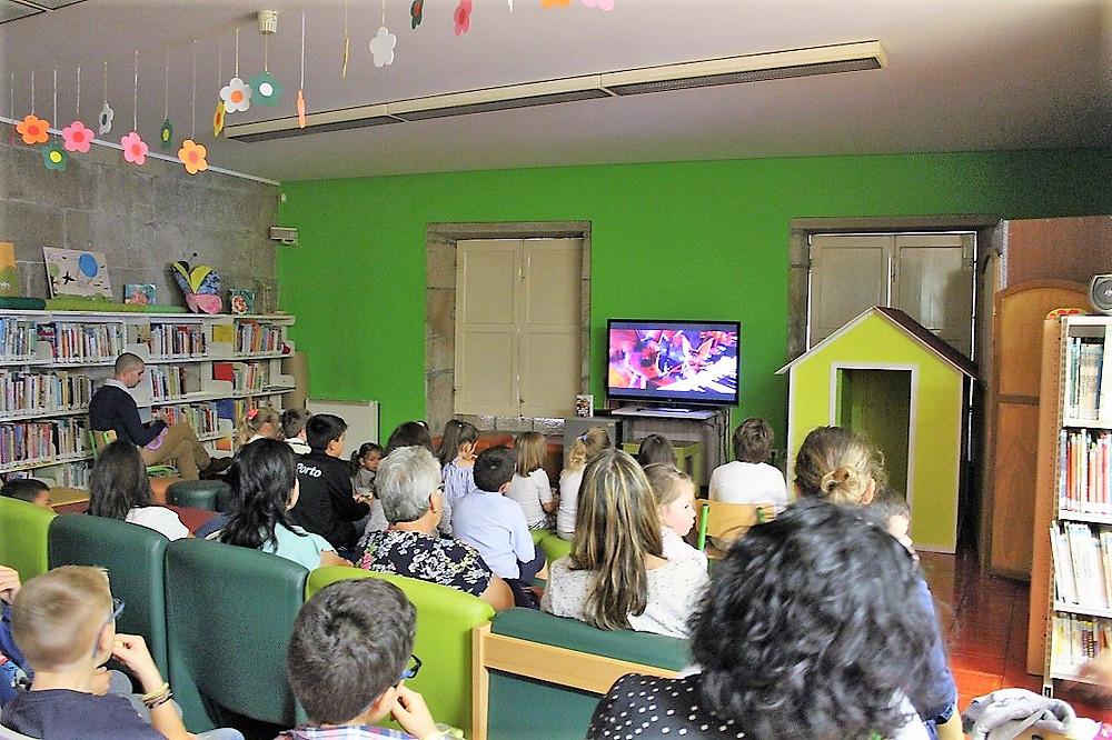 Cinema em Família regressou à Biblioteca Municipal com grande participação   Peneda Gerês TV