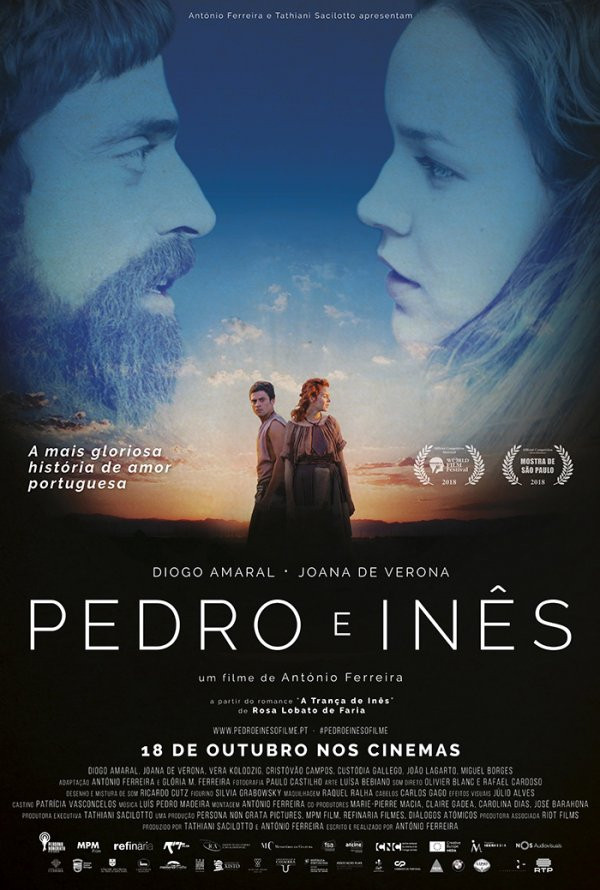 """""""Pedro e Inês"""" na apresentação do Cineclube de Arcos   Peneda Gerês TV"""