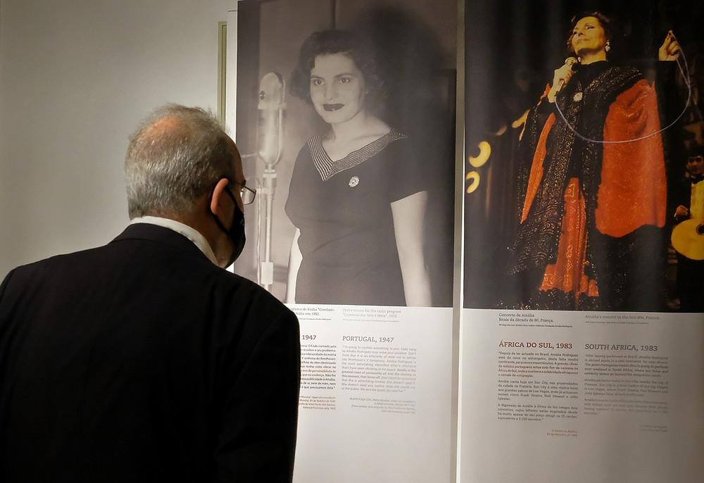 """Exposição """"Bem-Vinda Sejas Amália"""" no Museu do Traje de até 30 de agosto"""