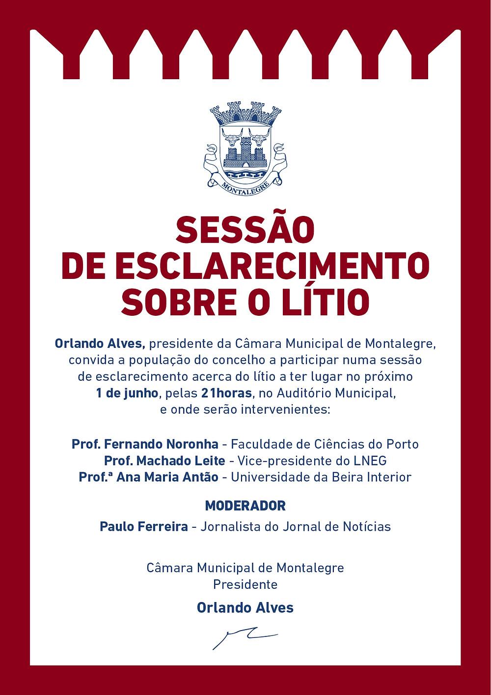Sessão de esclarecimento sobre o lítio | Peneda Gerês TV