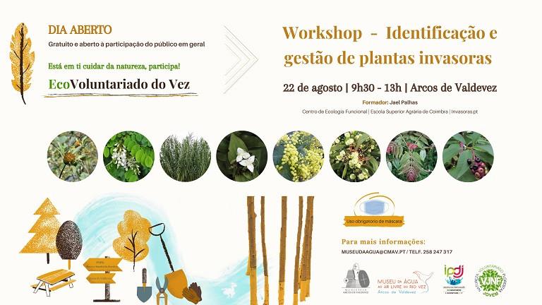 Workshop sobre identificação e gestão de plantas invasoras