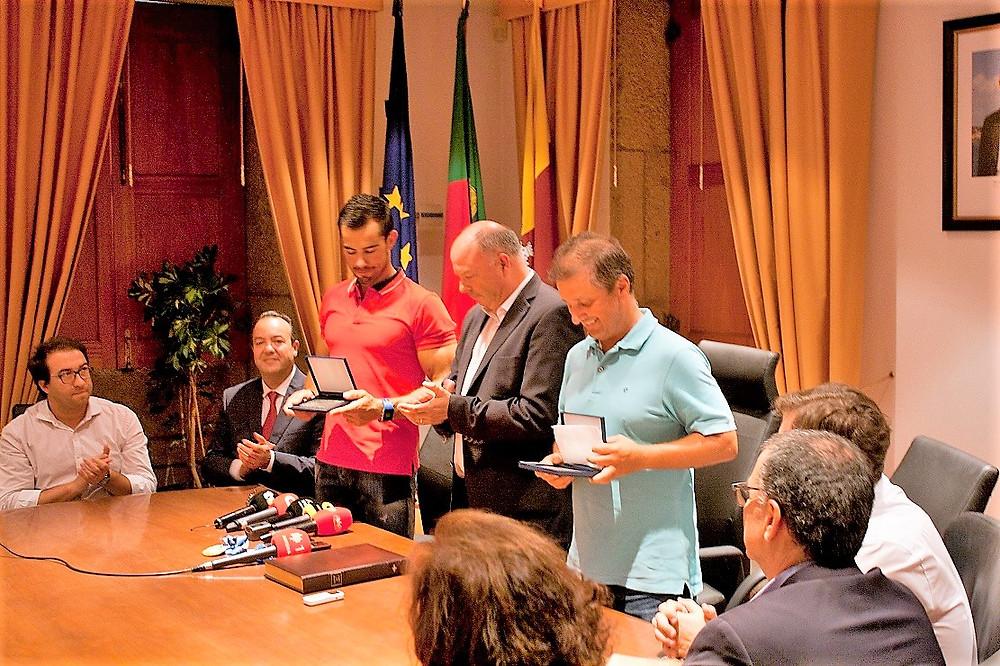 Ponte de Lima homenageia Fernando Pimenta e o treinador Hélio Lucas | Peneda Gerês TV