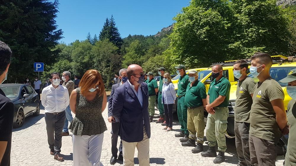 Ministro do Ambiente apresentou novos investimentos e reforço de meios humanos no PNPG