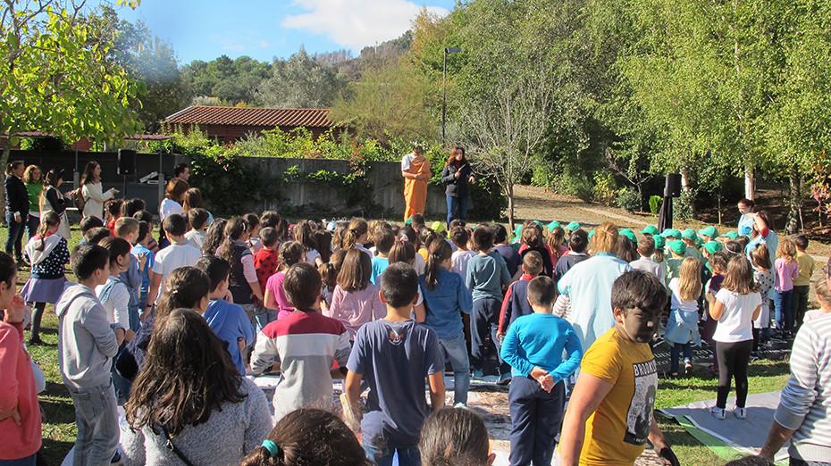 Magusto Tradicional na Quinta de Pentieiros dia 9 de novembro | Peneda Gerês TV