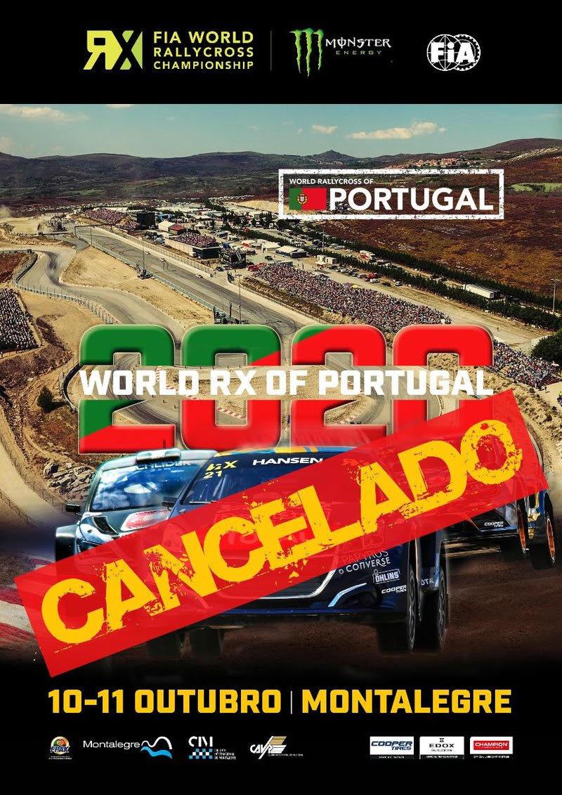 Prova Portuguesa do Mundial de Rallycross 2020 Cancelada