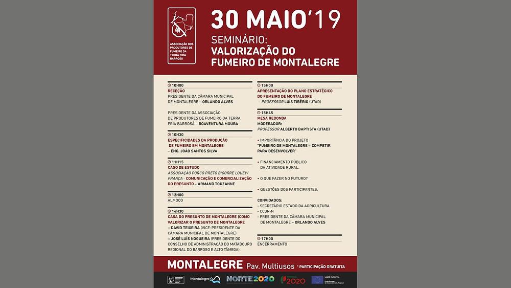 """Seminário - """"Valorização do fumeiro de Montalegre""""   Peneda Gerês TV"""