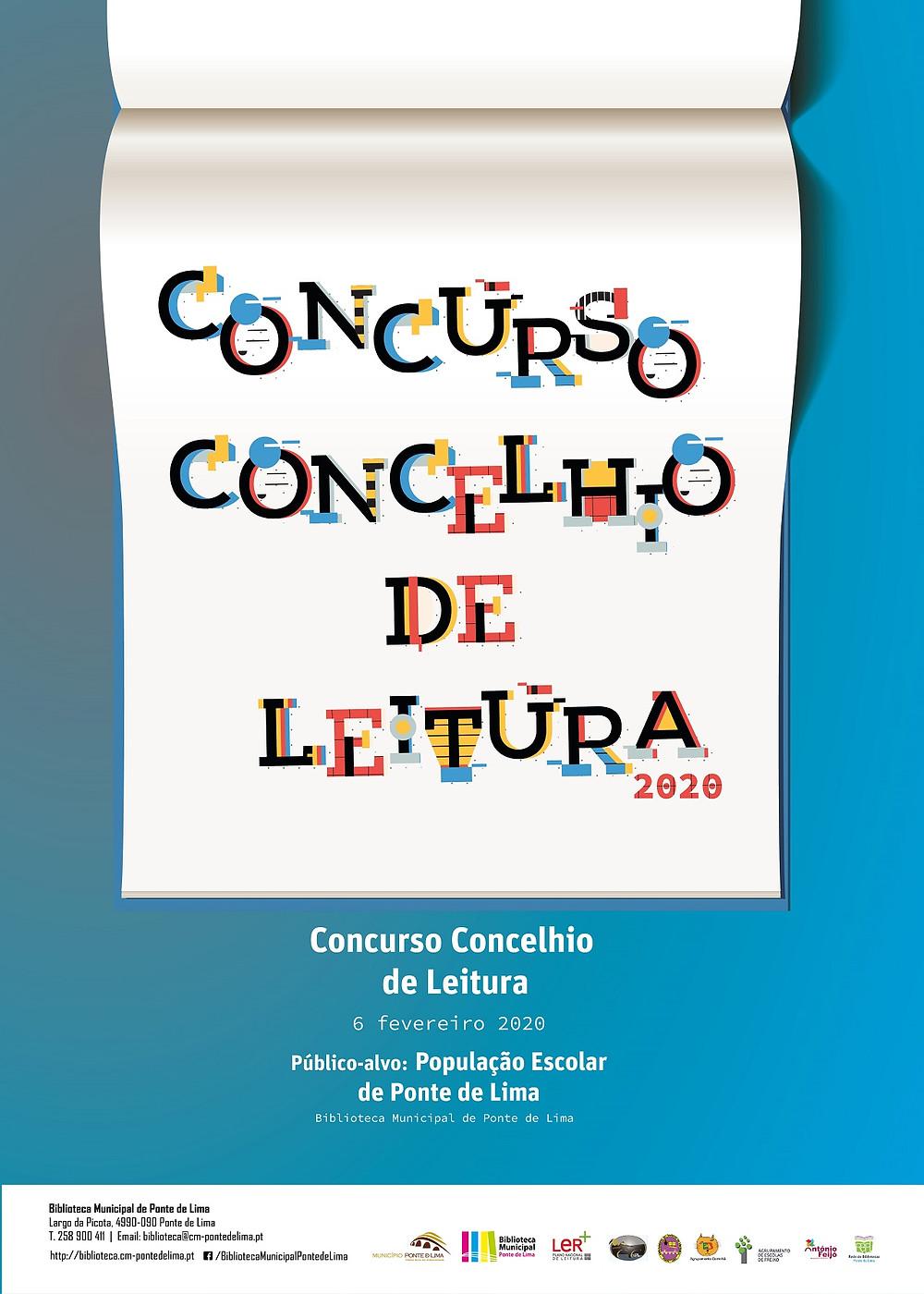Concurso Concelhio de Leitura 2020 de Ponte de Lima