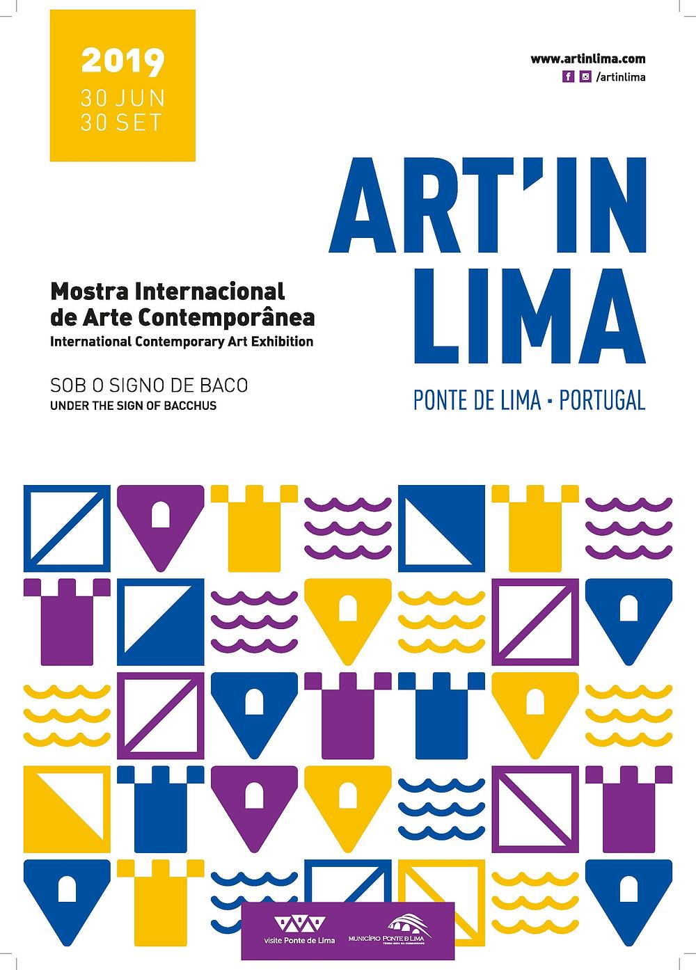 Cartaz da Mostra de Arte Contemporânea  Peneda Geres TV