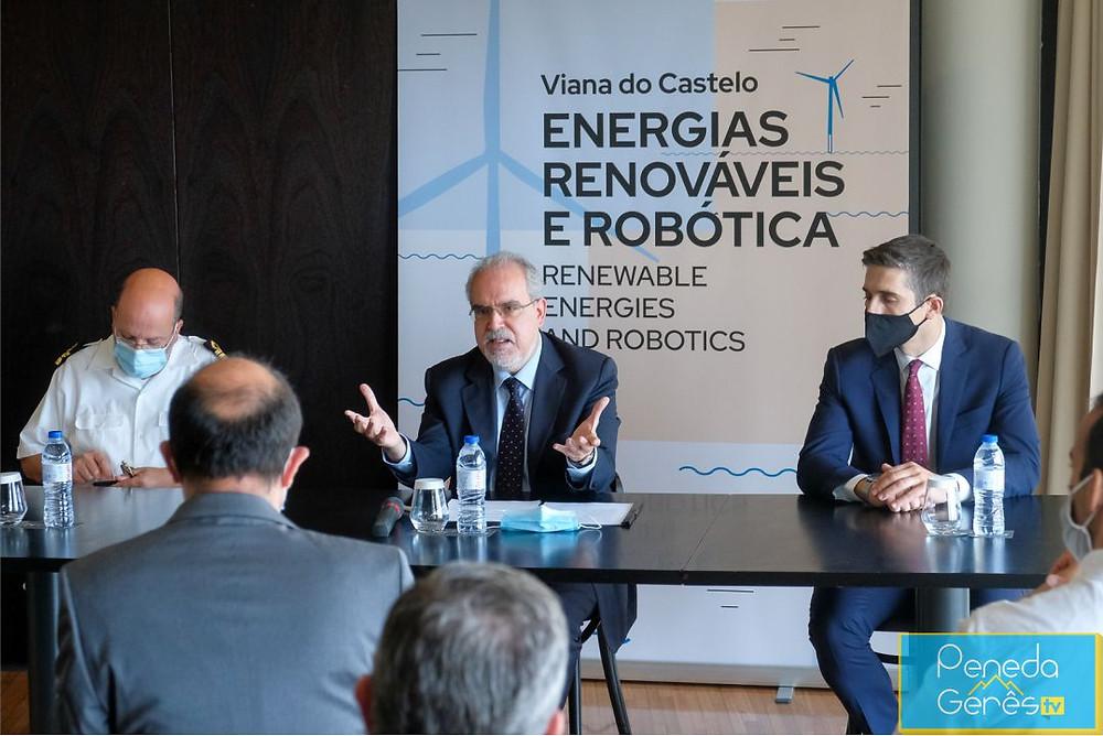 Viana do Castelo vai, pois, acolher o Atlantis Test Center, o primeiro centro europeu de teste de robôs marítimos em ambiente real