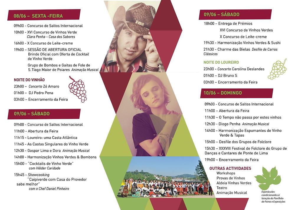 Programa 28ª Festa do Vinho Verde e dos Produtos Regionais de Ponte de Lima   Peneda Gerês TV