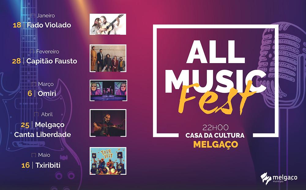 """""""FADO VIOLADO"""" arranca temporada do  ALL MUSIC FEST, em Melgaço   Peneda Gerês TV"""