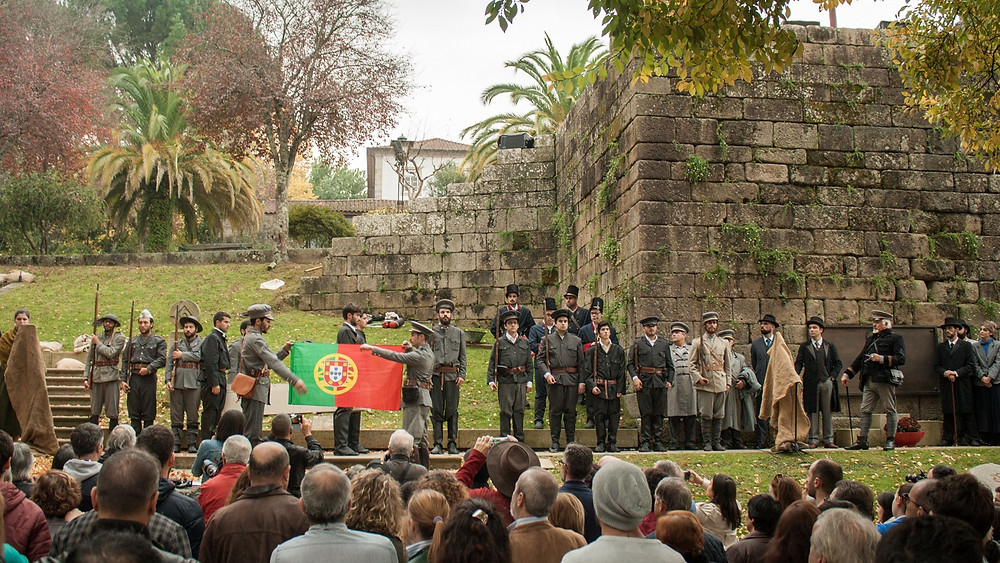 Os Limianos na Primeira Grande Guerra - Recriação Histórica foi um êxito | Peneda Gerês TV