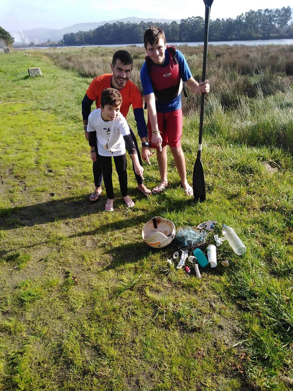 Viana Garças Clube é pioneiro no Kayak Plogging | Peneda Gerês TV