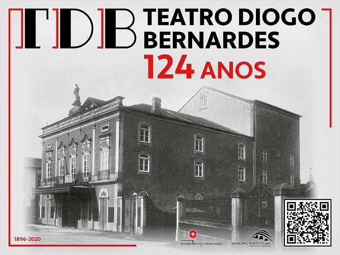 Programação do Teatro Diogo Bernardes para o último trimestre de 2020