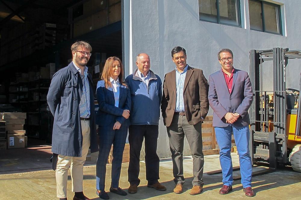 Executivo Municipal visita Grupo Empresarial em Arcozelo | Peneda Gerês TV